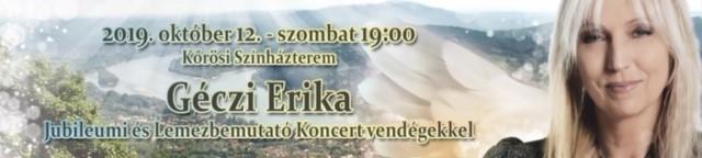 GÉCZI ERIKA KONCERT